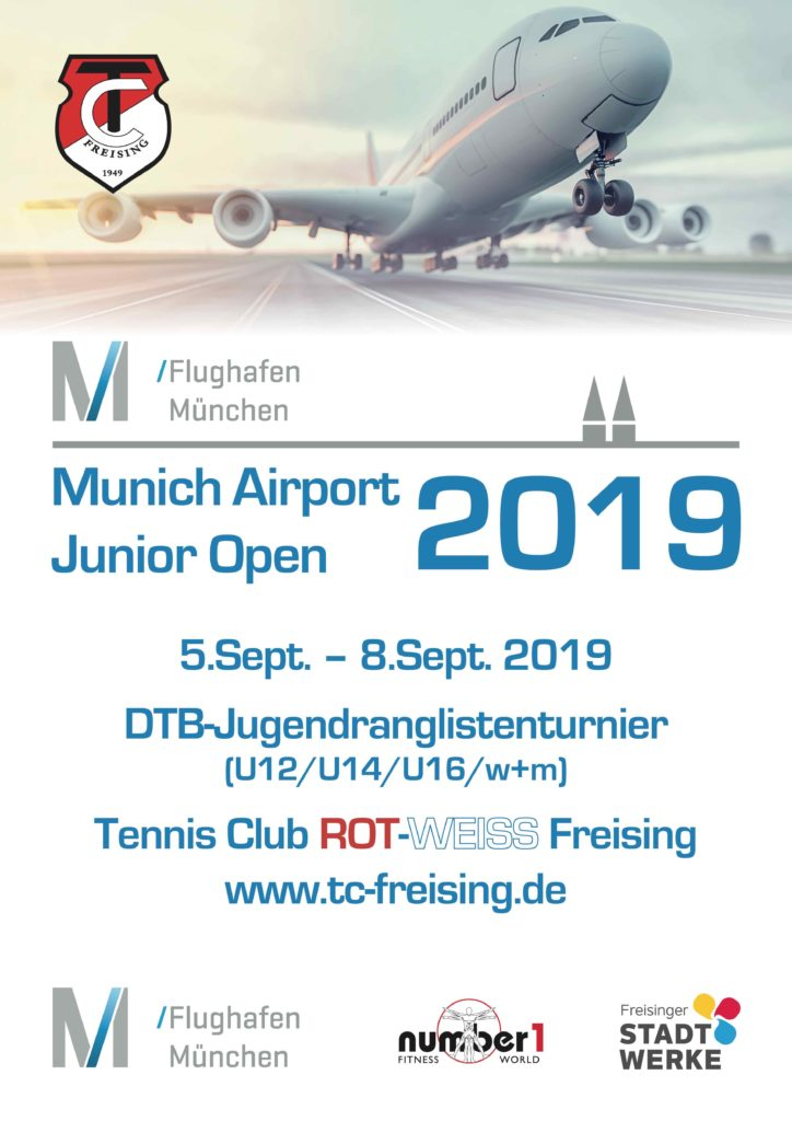 Munich Airport Junior Open Tennisclub Rot Weiss Freising Ev