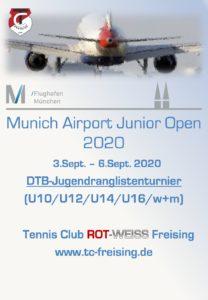 Dieses Jahr findet unser 2. Munich Airport Jugendturnier statt